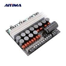 AIYIMA-AMPLIFICADOR DE POTENCIA TPA3116, amplificador de sonido Digital, amplificador de Audio Amp 6, 50W * 4 Surround 100W * 2 DIY 5,1, decodificador de PC para cine en casa, DVD para coche