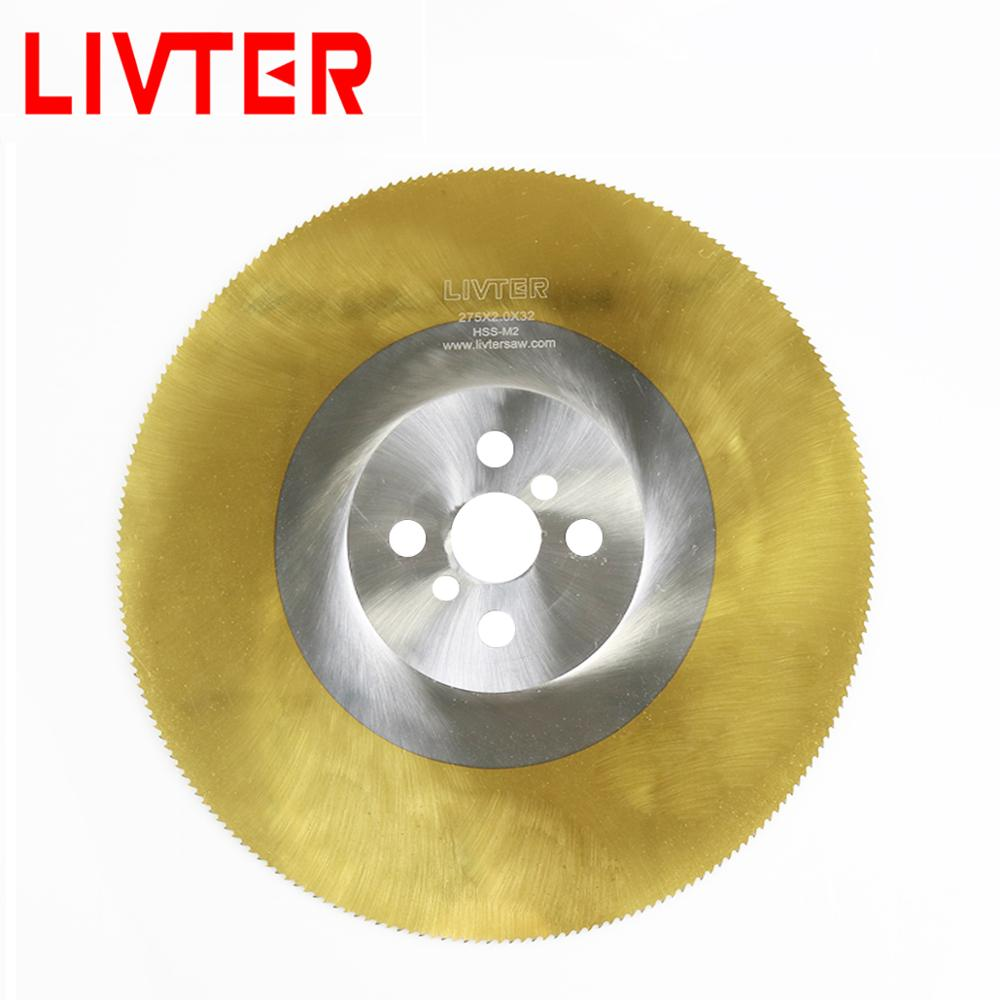 High Efficency HSS Material Tin Coating Cold Circular Saw Blade For Metal Cut