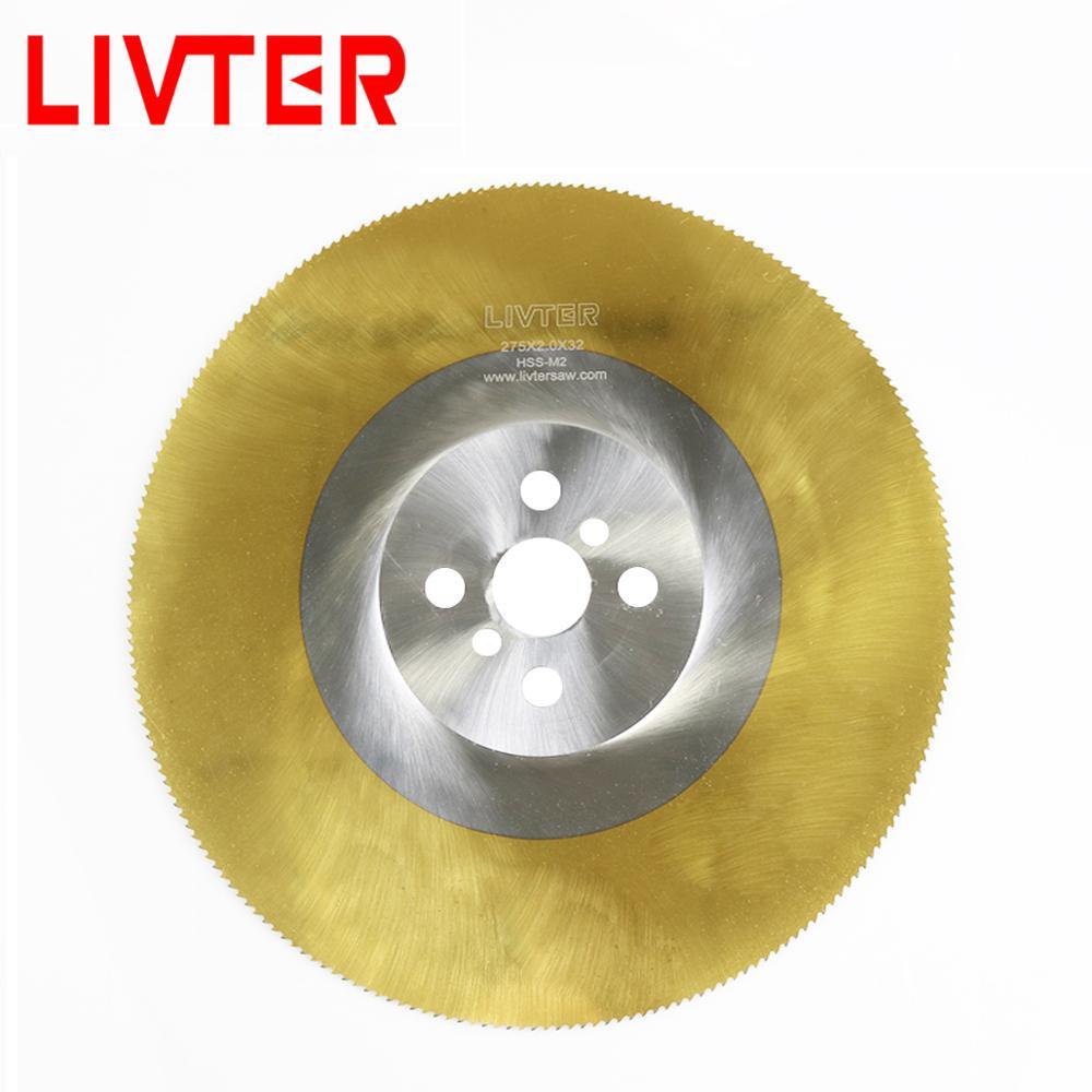 High Efficency HSS Material Tin Coating Cold Circular Saw Blade For Metal Cut
