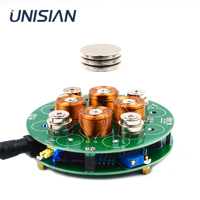 UNISIAN Push-down Intelligent magnetic levitation push-down type smart Suspension magnetic  DIY kIT for Interesting electric KIT