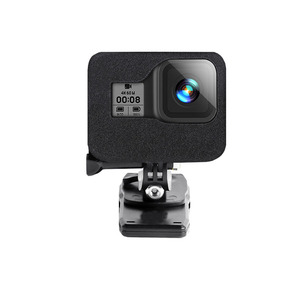 Image 4 - Windslayer Foam Windscreen for GoPro Hero 8 Black Sponge Foam Windshield Cover Wind Noise Reduction Case for GoPro 8 Accessories