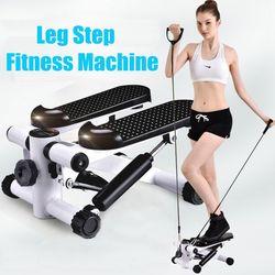 Mini Stepper Mit Elastischen Seil Multi-funktionale Laufband Für Home Verlieren Gewicht Fitness Ausrüstung Laufende Maschinen