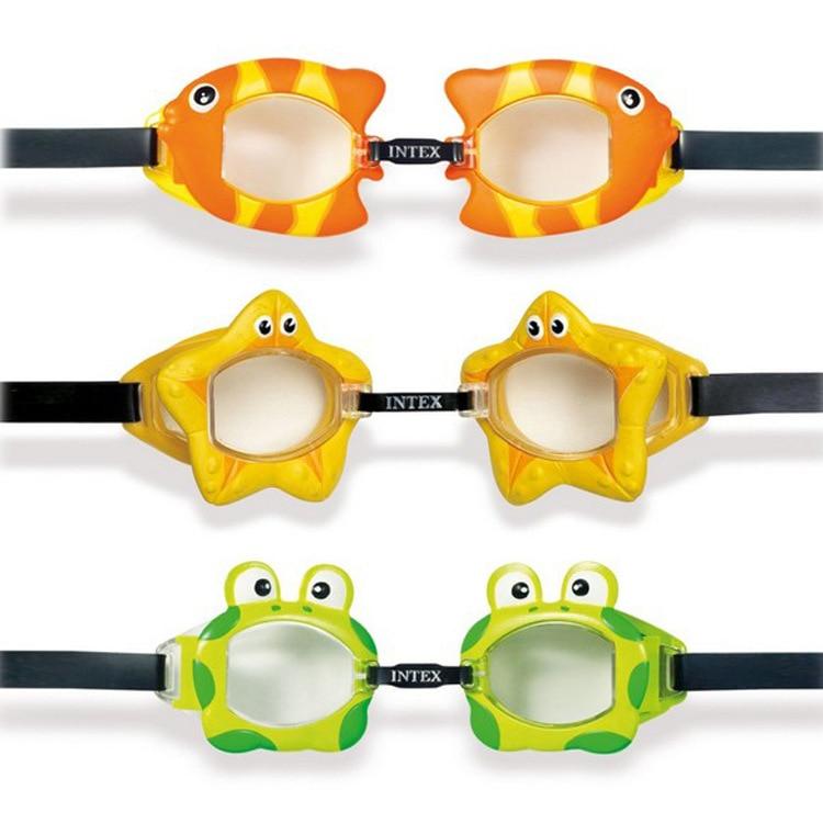 Genuine Original INTEX Fashion Children Happy Swimming Goggles Swimming Glasses Diving Goggles 55603