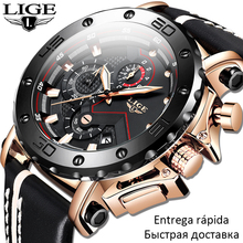 2020 New Military Mens Watches LIGE Top Brand Fashion Luxury