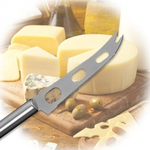 Three-Hole Stainless Steel Cheese Knife For Butter Dessert