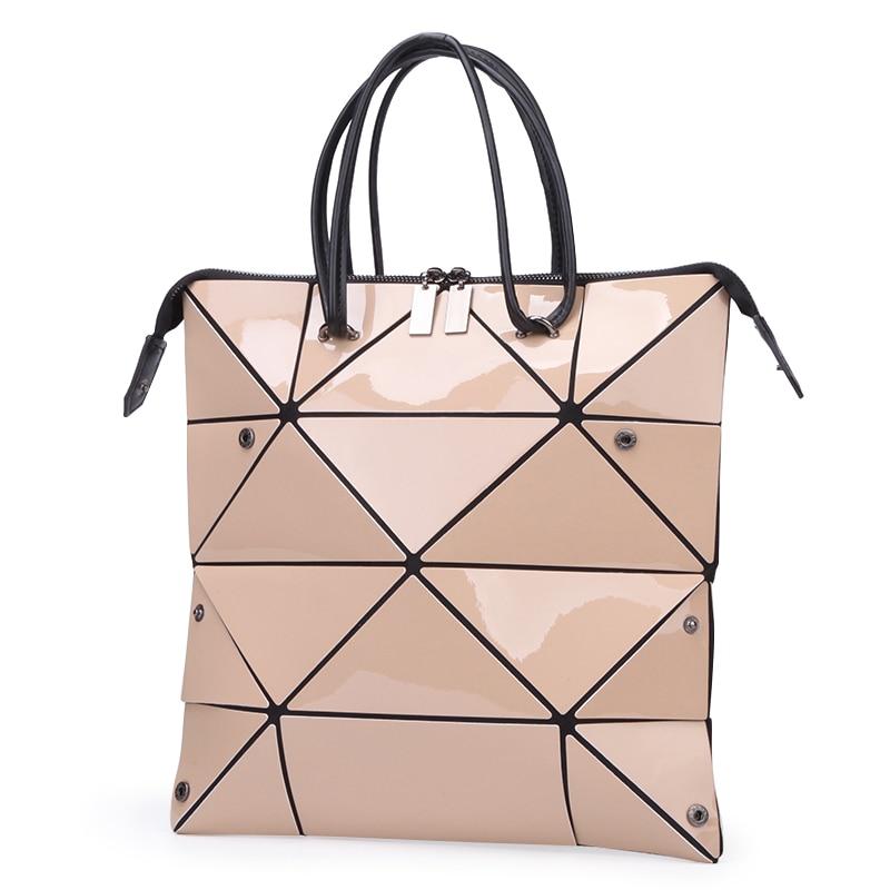 LOVEVOOK Women Handbags Luxury Shoulder Bags Designer 2019 Foldable Totes With Top-handle Female Large Capacity Geometric Bags