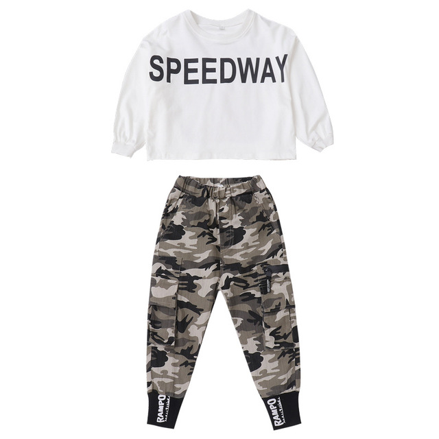 Girls Camouflage Outfit Set  6
