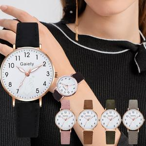 Модные детские часы с браслетом, розовые часы для девочек, детские цифровые кварцевые часы с кожаным ремешком, подарочные часы Детские часы      АлиЭкспресс