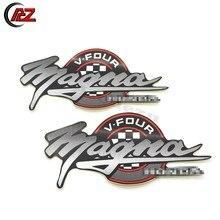 Tanque de gás combustível emblema emblema decalque adesivos laterais com cola para honda magna V-FOUR v25 v30 v42 v45 v65 vt250 vf500 vf700 vf750 vf1100