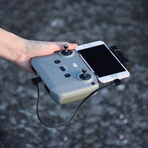 Image 3 - 30cm OTG câble de données pour DJI Mavic Air 2/Mini 2 câble IOS type c Micro USB adaptateur connecteur de fil pour tablette téléphone Drone