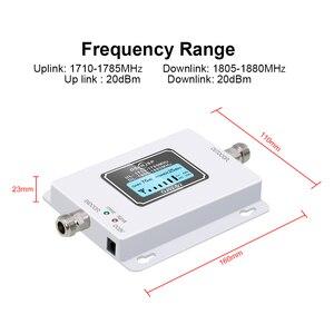 Image 4 - OSERJEP DCS 1800 МГц GSM 1800 2g 4g LTE повторитель сигнала для сотового телефона усилитель сигнала Мобильный телефон усилитель сигнала комнатная уличная антенна