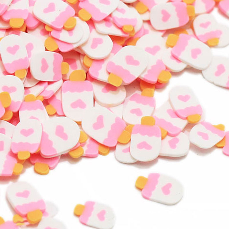 10g/Lot Ice Cream Slices Sprinkles For Slime Supplies Toy Polymer Clay Fimo Charms Accessories Addition For Fluffy Clear Slime