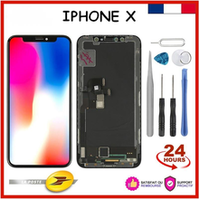 AAA+++ Display For iPhone X/10 OLED Screen Replacement For iPhone X LCD True Tone No Dead Pixel + Tools For Reparing