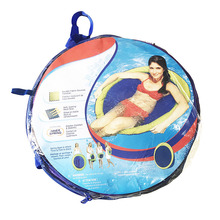 Swim Spring Float Mesh for Pool Lake Swimming Floating Inflatable Bed ED889