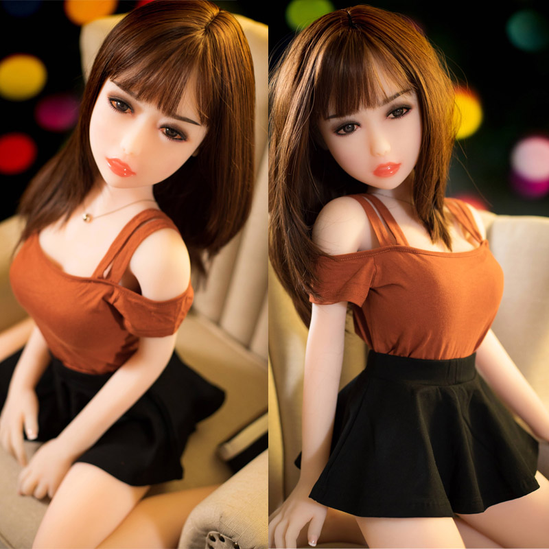 <font><b>100cm</b></font> <font><b>Silicone</b></font> <font><b>Sex</b></font> <font><b>Dolls</b></font> Livelike Pussy Realistic Metal Frame Japanese Sexy Love <font><b>Doll</b></font> Mini Vagina Anime Adult <font><b>Sex</b></font> <font><b>Doll</b></font> for Men image