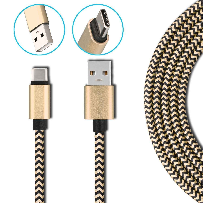 Tipo C cable USB para el Honor 8 9 10 Huawei Mate 9 10 20 pro P20 lite Axon 7 mini Nubia Z17