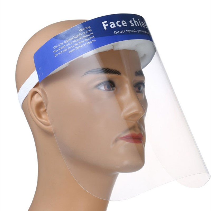 10PCS Full Face Masks Virus Protection Anti droplets Face Shield Protective Cover Transparent Face Eyes Protector Innrech Market.com