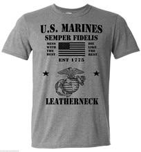 Estados unidos da américa. Camiseta morine corps semper fi militar veteron uso esporte t