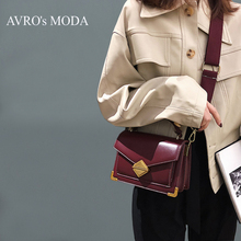 купить AVRO's MODA Brand PU leather shoulder bags for women 2019 luxury handbags women crossbody bags designer vintage messenger bags дешево