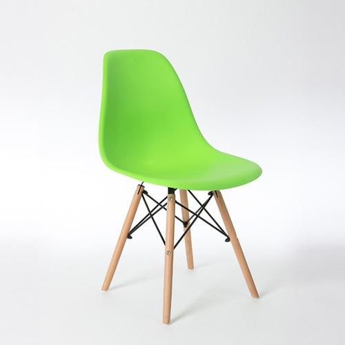 Скандинавские стулья для столовой, простые современные складные маленькие квартиры, ленивые домашние столы, задние пластиковые компьютерные кресла - Цвет: 17