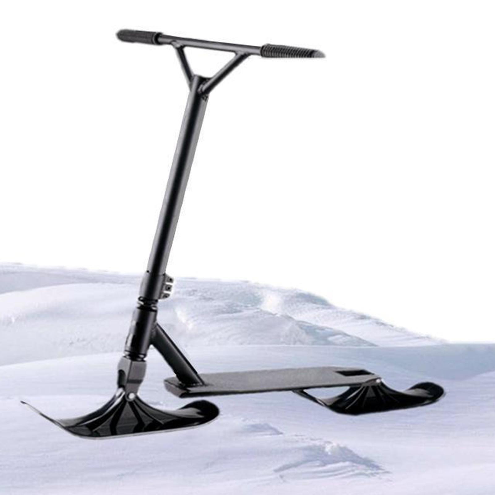 Langlebiger PE Schneeschlitten Skiroller Child Kickscooter Refit Board Bottom