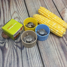 Stainless Steel Threshing Planing Corn Stripper Stripping Grain Off Kitchen Household Creative Gadgets Craper Mounded Device