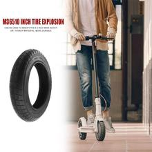M365 Thickened Outer Tires for 10 inch Modify Electric Scooter Wheel Tyres  Non-slip Pneumatic Tires Sets 250x250x50mm