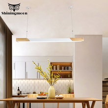 Modern Solid Wood Bar LED Pendant Lights Japanese Style Restaurant Pendant Lamp Bar Cafe Kitchen Hanging Lamp Home Decor Lights wood ball creative pendant light mediterranean style restaurant cafe bar hanging lamp modern wood lamp for bedroom balcony aisle