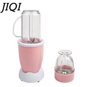 Image 5 - 다기능 전기 Juicer 미니 휴대용 자동 블렌더 베이비 푸드 밀크 쉐이크 믹서 고기 분쇄기 과일 주스 기계 EU 미국