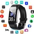 Температура смарт-браслет для мужчин и женщин умный Браслет фитнес-трекер для Android IOS Smartband класса «Люкс», Браслет Смарт-браслет на запястье