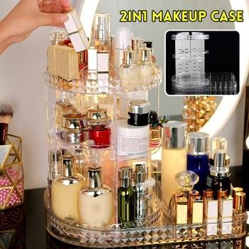 Cosmetic Makeup Jewelry Lipsticks Storage Organizer Case Polystyrene Holder Makeup Organizers Cosmetic Storage Box фото
