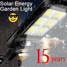 Powerful Solar Energy Automatic Induction Outdoor Lighting Led Lights Waterproof Charge Street Lamp Garden Factory Court Lawn