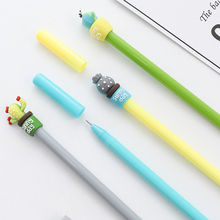 Pen School Gel-Pens Office-Supplies Cactus-Pot Stationery Wholesale Student New Learning