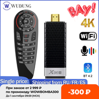 Mini PC TV Stick X96S Dispositivo de TV inteligente, Android 9,0, DDR4, 4GB, 32GB, Amlogic S905Y2, WIFI Dual 2,4/5G, BT4.2, 4K, HD, VS X96 MAX