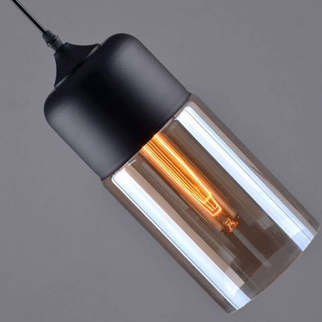 Nordic Modern Loft Glass Pendant Lamp