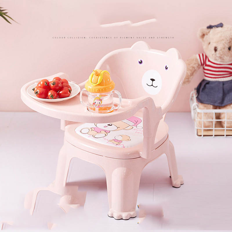 Baby Chairs Folding Multifunctional Light Portable Children Baby Chairs Kids Dining Table Seats
