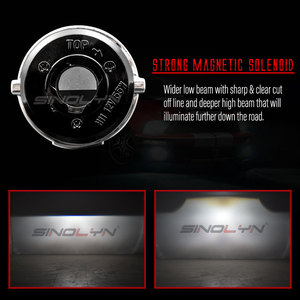 Image 4 - Sinolyn דו קסנון ערפל אורות לפורד פוקוס 2 MK2 פיאסטה/סיטרואן C4/סובארו פורסטר/הונדה fit/סוזוקי סוויפט H11 HID מנורת Retrofit