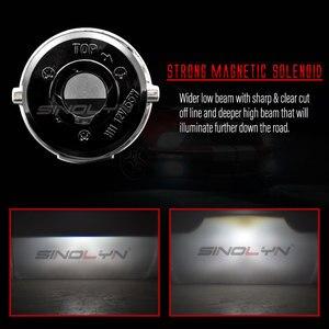 Image 4 - Sinolyn Bi XenonหมอกไฟสำหรับFord Focus 2 MK2 Fiesta/CITROEN C4/Subaru Forester/Honda fit/Suzuki Swift H11 โคมไฟHID Retrofit