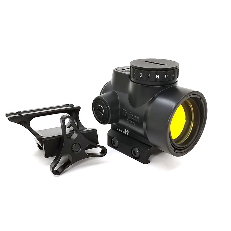 Tactical Hunting Scopes Optics Reflex MRO Red Dot Sight 2 MOA AR With Low and High QD Mount fit 20mm Rail image
