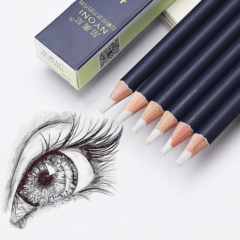 Творческий резиновая ручка симпатичная ластик тонкий наконечник Форма высокой точности ластик карандаш для выделения для манга Art школьны...