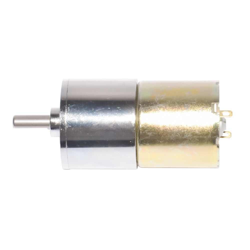 37GB330 소형 DC 기어 모터 DC 12V 24V 기어 모터 직경 37mm RC 스마트 자동차 부품 용 5-1000rpm 330 DIY 선형 액추에이터 용
