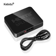 Switcher Splitter Full HD 1080p HDCP 4K Switcher 1X2 amplificatore Split doppio Display per DVD per PS3 HDTV 1 in 2 Out