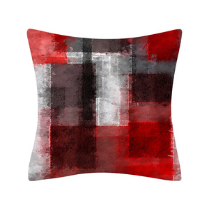 Image 5 - 1Pcs Color Geometric Pattern Decorative 45*45CM Cushion Cover Polyester Throw Pillowcase Sofa Home Decorative PillowCover 41029