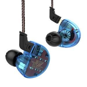 Image 3 - KZ ZS10 4BA With Single Dynamic Hybrid In Ear Earphone HIFI DJ Monito Running Sport Earphone 5 Drive Unit Headset Earbud KZ ES4