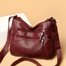 4 Pockets Ladies Handbags Summer Sac Fashion Women Crossbody Shoulder Bags for Women 2021 Female Messenger Bag Soft Flap Bag
