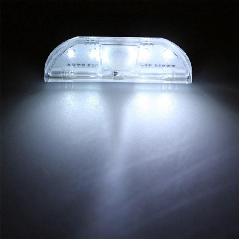 Smart Door Lock Light Infrared Human Body Induction Unlock Night Light LED Induction Door Lock Light