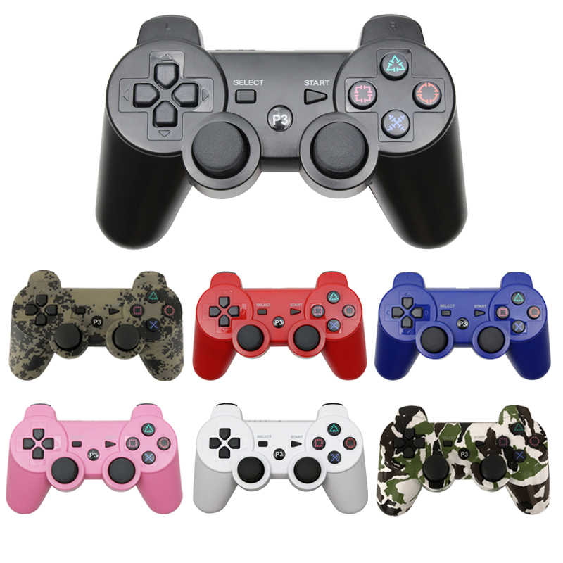 Bluetooth sem fio gamepad para ps3 joystick console controle para pc para sony ps3 controlador para playstation 3 joypad accessorie