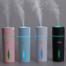 LED portable car home humidifier night light air purifier freshener auto parts