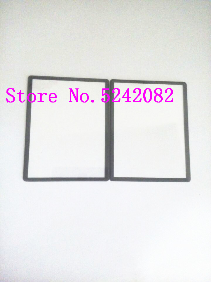 NEW Outer LCD Display Window Glass Cover (Acrylic)+TAPE For SONY WX9 Camera Repair Part|Len Parts| |  - title=