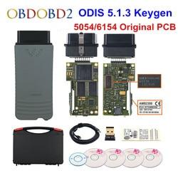 Оригинальный 5054 OKI Keygen 5054A Bluetooth AMB2300 ODIS V5.1.3 для V/AUDI/SKODA/SEAT 5054A 6154 wifi UDS для VAG